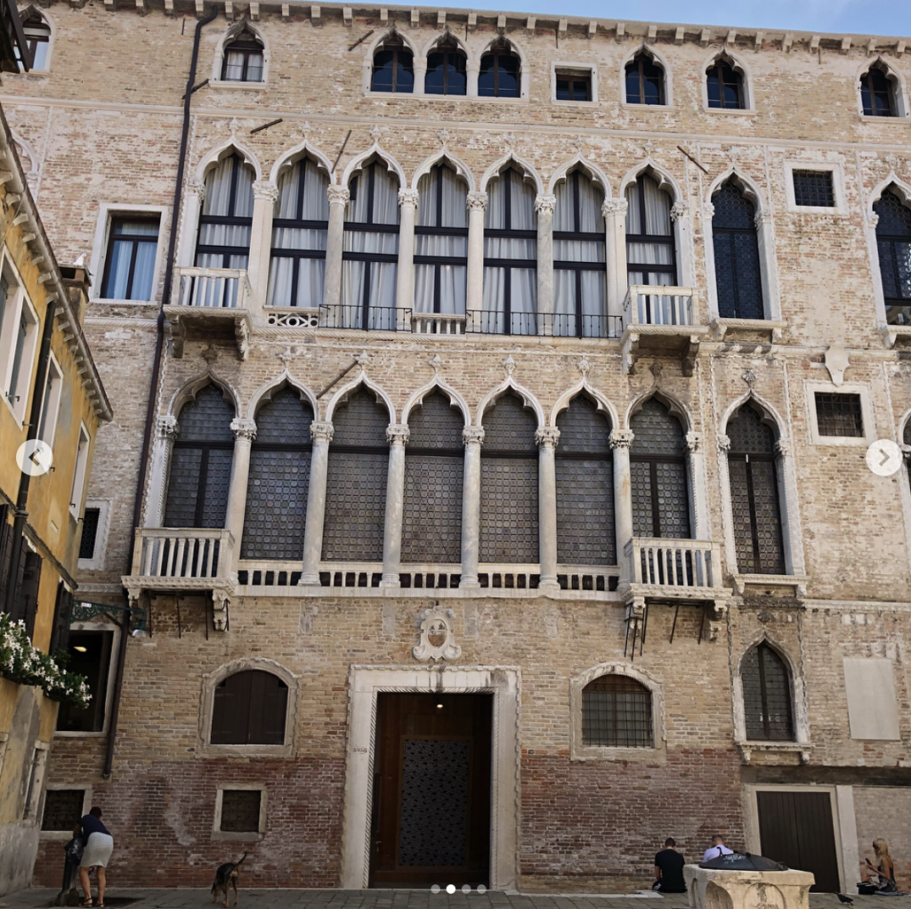 Palazzo Fortuny, Venice. Famous at the turn of 1900 for his theater, set design, textiles, lighting. I'm honored that my clients have his gorgeous fabrics as my signature pillows, along with hand blown Venetian glass lamps, chandeliers and accessories!