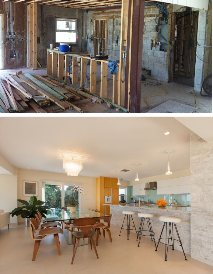 Before and After: Florida Keys Kitchen Transformation by Kevin Gray Design