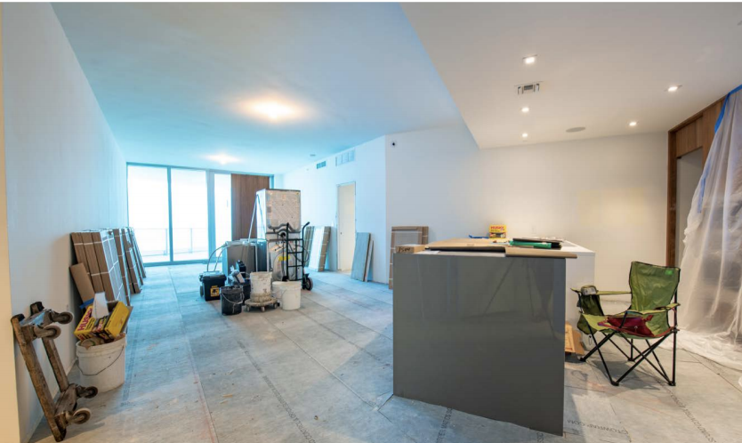 Construction | Paramount Residences Fort Lauderdale Rebuild and Redecoration by Kevin Gray Design