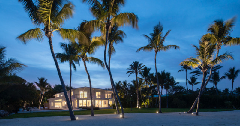 Custom Guest House at Tavernier Key Home Restored by Kevin Gray Design