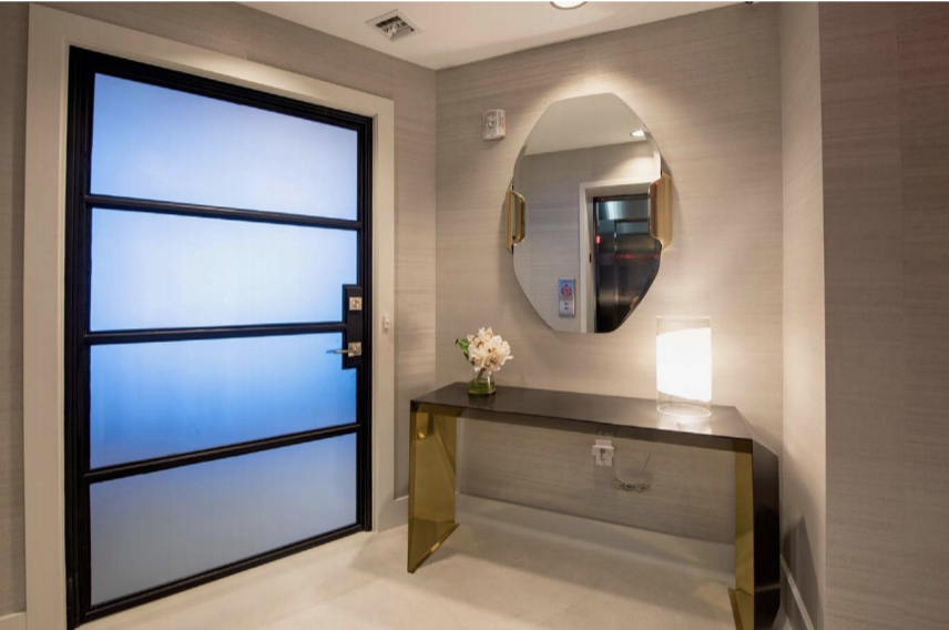 Entrance | Paramont Fort Lauderdale Rebuild and Redecoration by Kevin Gray Design