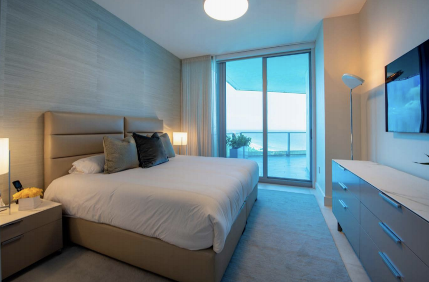 Guest Room | Paramount Residences Fort Lauderdale Rebuild and Redecoration by Kevin Gray Design