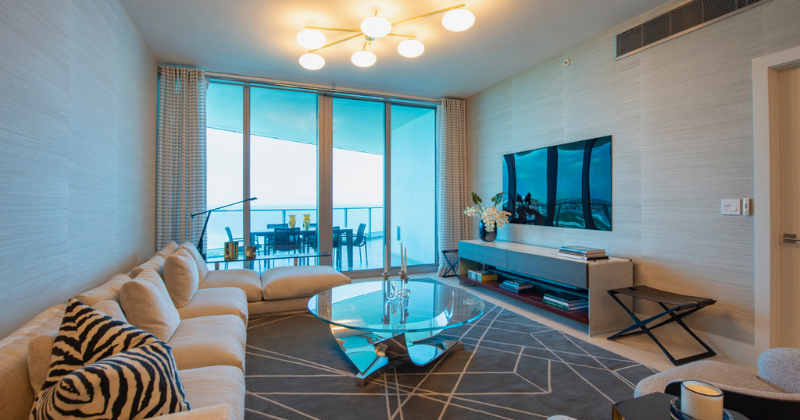 Luxury Oceanfront Condo by Interior Designer Kevin Gray | Paramount Residences Fort Lauderdale Rebuild and Redecoration by Kevin Gray Design
