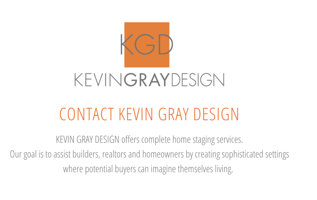 Kevin Gray Design Home Staging Services