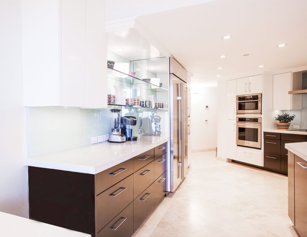 Kitchen: Behind The Scenes: Kevin Gray Design Gut and Rebuild Featured on SoFlo Home