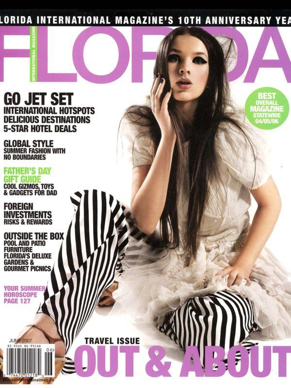 Interior Designer Kevin Gray featured in Florida International Magazine