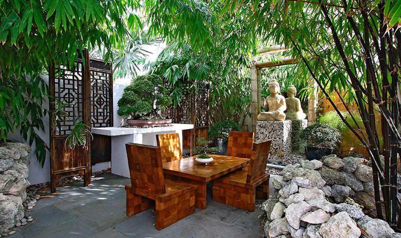 Revisiting Interior Designer Kevin Gray's Zen Inspired Mid-Century Bungalow Renovation- Garden