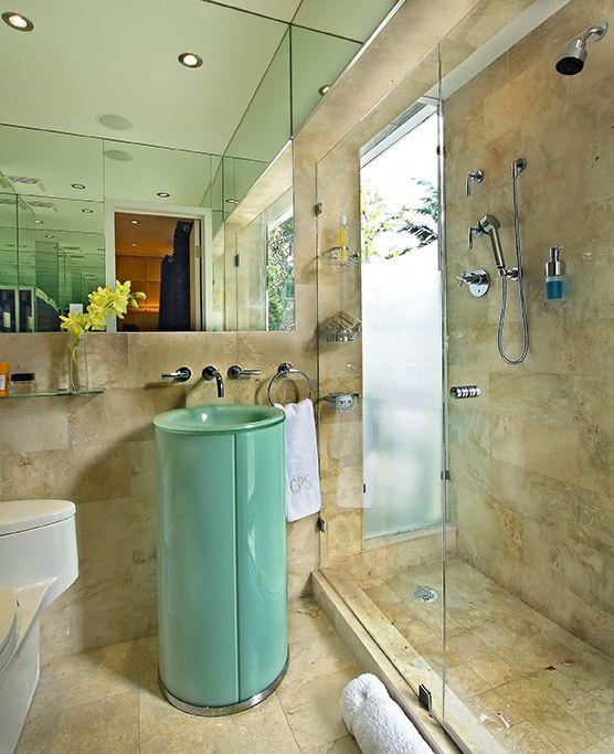 Revisiting Interior Designer Kevin Gray's Zen Inspired Mid-Century Bungalow Renovation: Master Bath