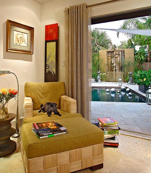 Revisiting Interior Designer Kevin Gray's Zen Inspired Mid-Century Bungalow Renovation- Pool Area