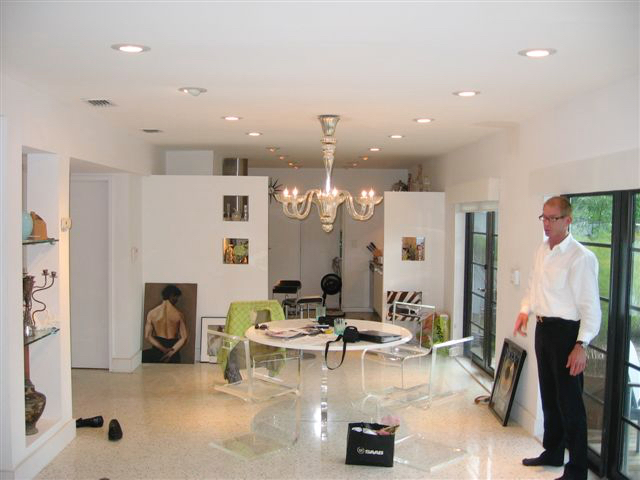 Zen-Inspired Mid Century Bungalow Transformat for Styx founder Chuck Panozzo- Dining Room