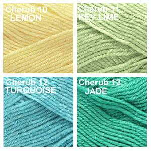 Cherub Group colors 10, 11, 12 and 13
