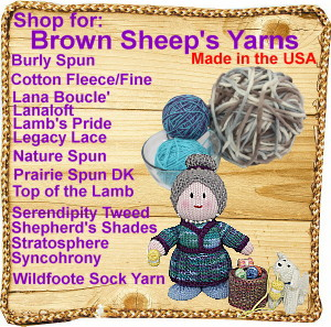 BROWN SHEEP YARNS