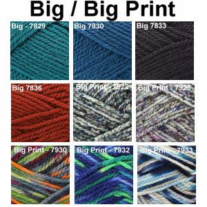 BIG or BIG PRINT - Skacel Schoeller Stahl superwash Wool yarn - CLEARANCE