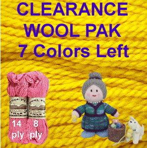 Wool Pak CLEARANCE Yarn