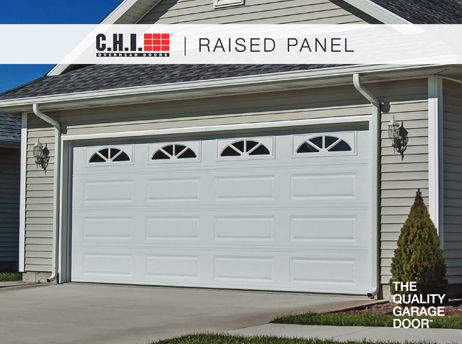 raised-panel-garage-doors