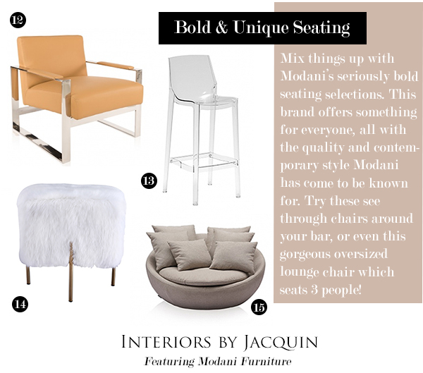 Enjoyable 5 Steps To Contemporary Style At Home With Modani Onthecornerstone Fun Painted Chair Ideas Images Onthecornerstoneorg