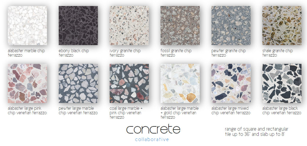 Terrazzo, Pavers, and Other Concrete Creations! – Interiors by Jacquin