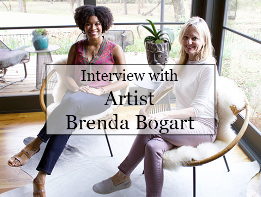 Interview with Artist Brenda Bogart