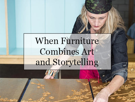 When Furniture Combines Art and Storytelling