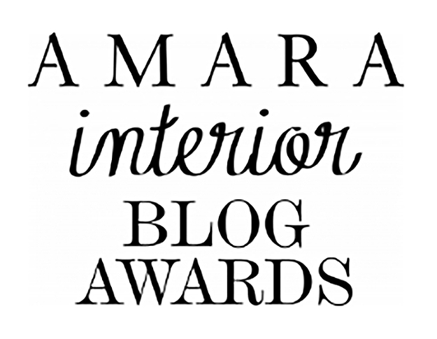 Interiors by Jacquin blog selected as finalist in the 2018 international 'Amara Interior Blog Awards', with attendance at the prestigious London awards event. (October 2018)