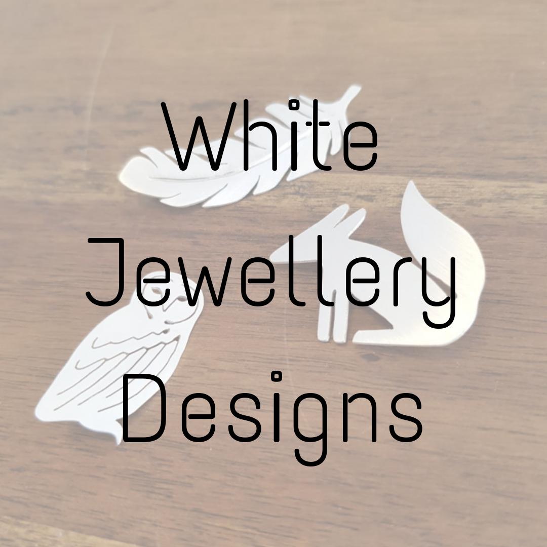 White Jewellery Designs
