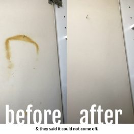 before and after cabinet cleaning brooklyn