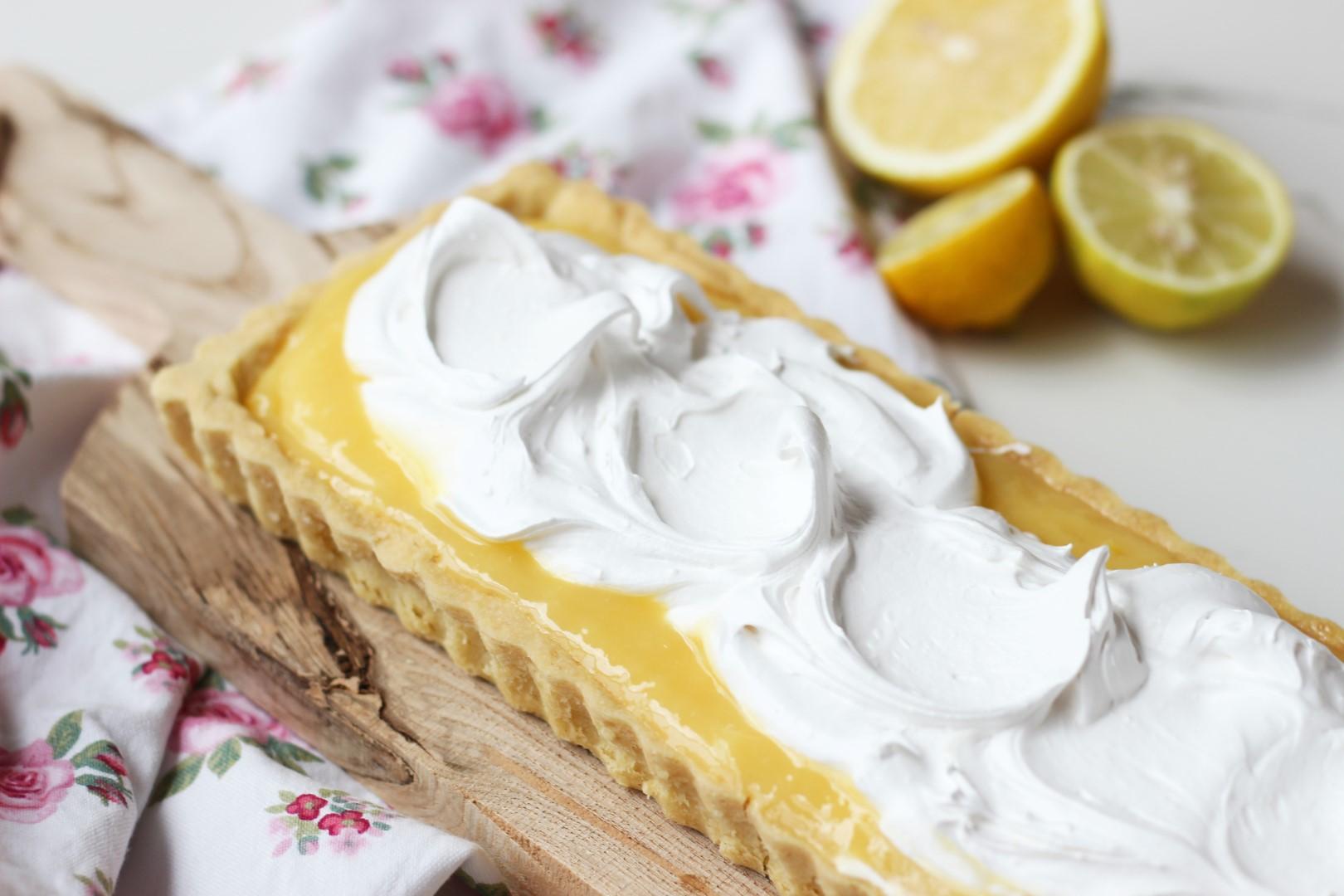 lemon pie, receta fácil, lemon curd, receta de cocina, postre.