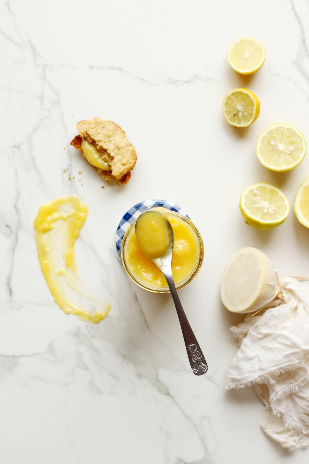 lemon curd, receta fácil crema de limón, salsa de limón.