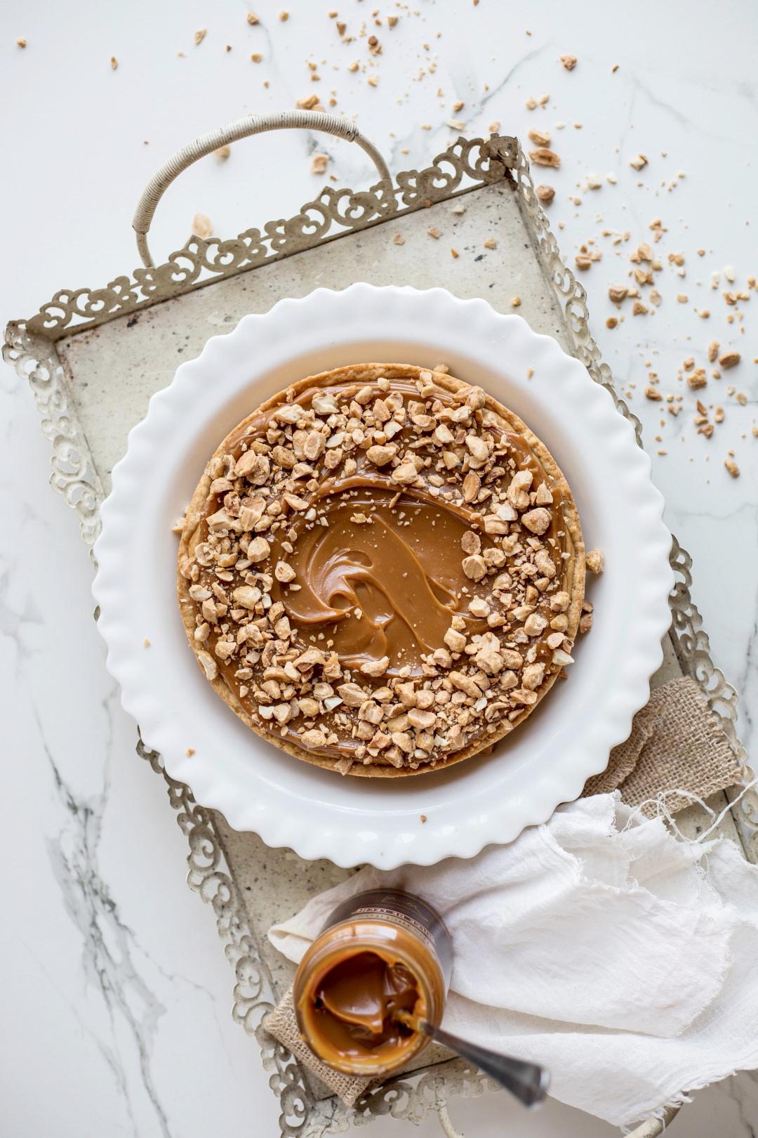 Cheesecake de dulce de leche, receta de postre, postre fácil