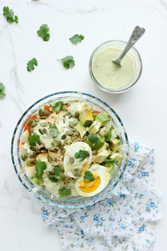 ensalada, ensaladas, vegetales, nutricion, fruta, aderezo, palta, recetas faciles