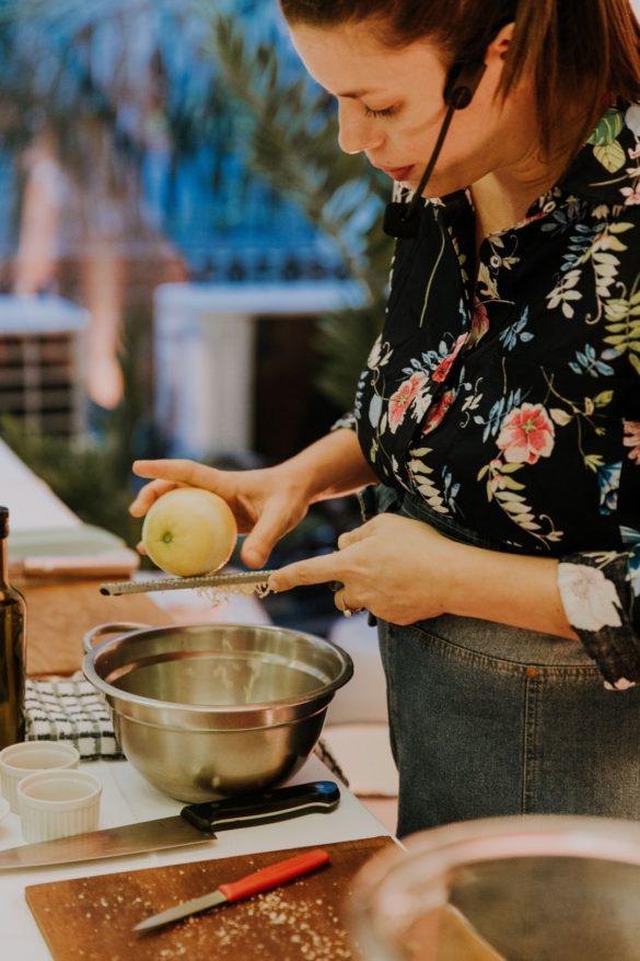 Luchi Soria, Lucia Soria, Lolita, Masterchef, clase de cocina, recetas de cocina.