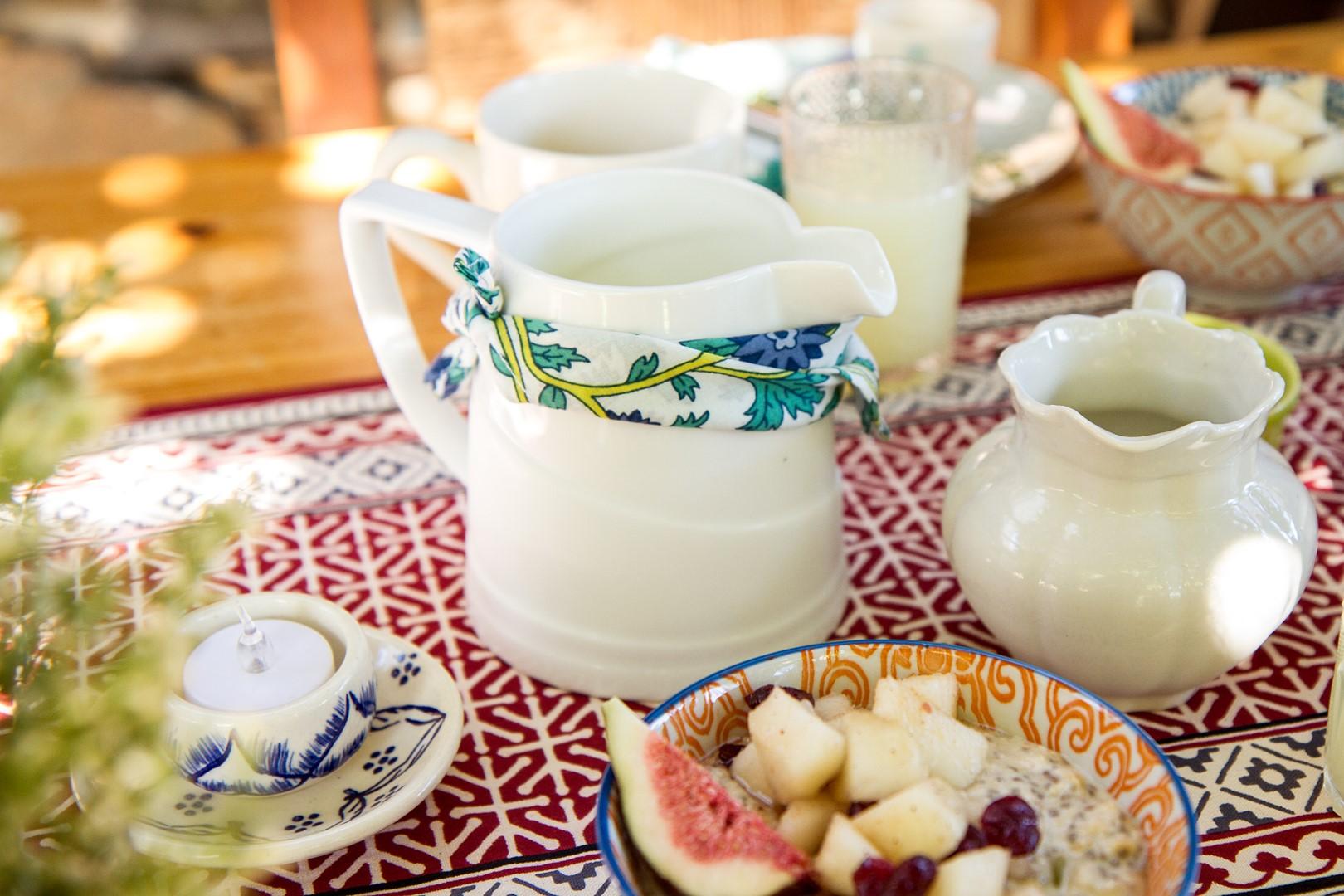 poner la mesa, la compañía del oriente, sur la table, blog, desayuno.