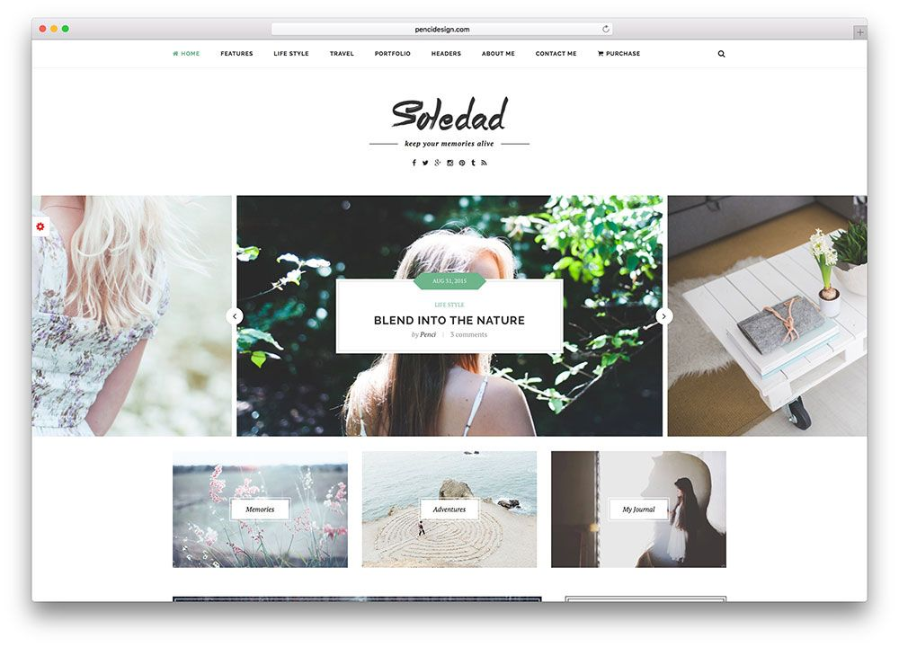 soledad theme wordpress, herramientas para blogueros, themes wordpress, como empezar un blog