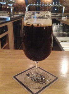 A Nissefar Winter Warmer at Mikkeller Bar, one of the many delicious brews tasted over a weekend in San Francisco.