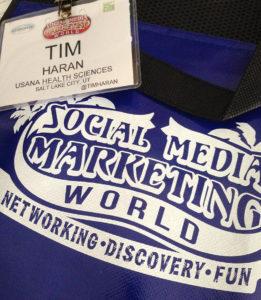 Social Media Marketing World Badge