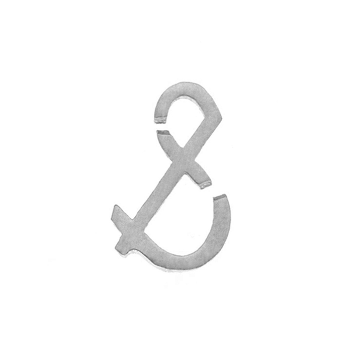 Nineteen Symbol & Charm Sterling Yellow Gold Rose Gold
