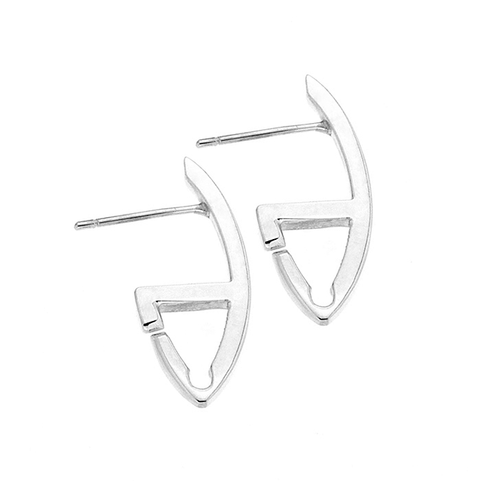 MOD Earring Sterling Silver Rose Gold Yellow Gold