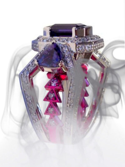 Lolan T Lookbook Private Commission Alexandrite Ring