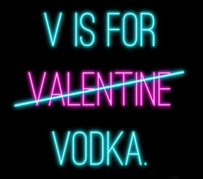 Lolan T Lookbook V is For Valentine Vodka