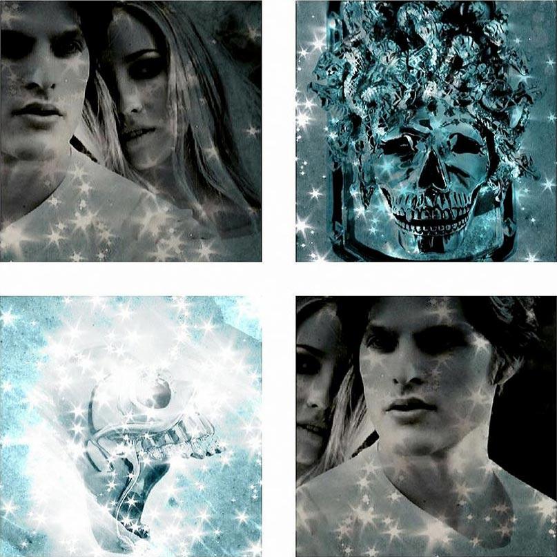 Lolan T Lookbook Golgotha Collection Tags Medusa Skull Collage