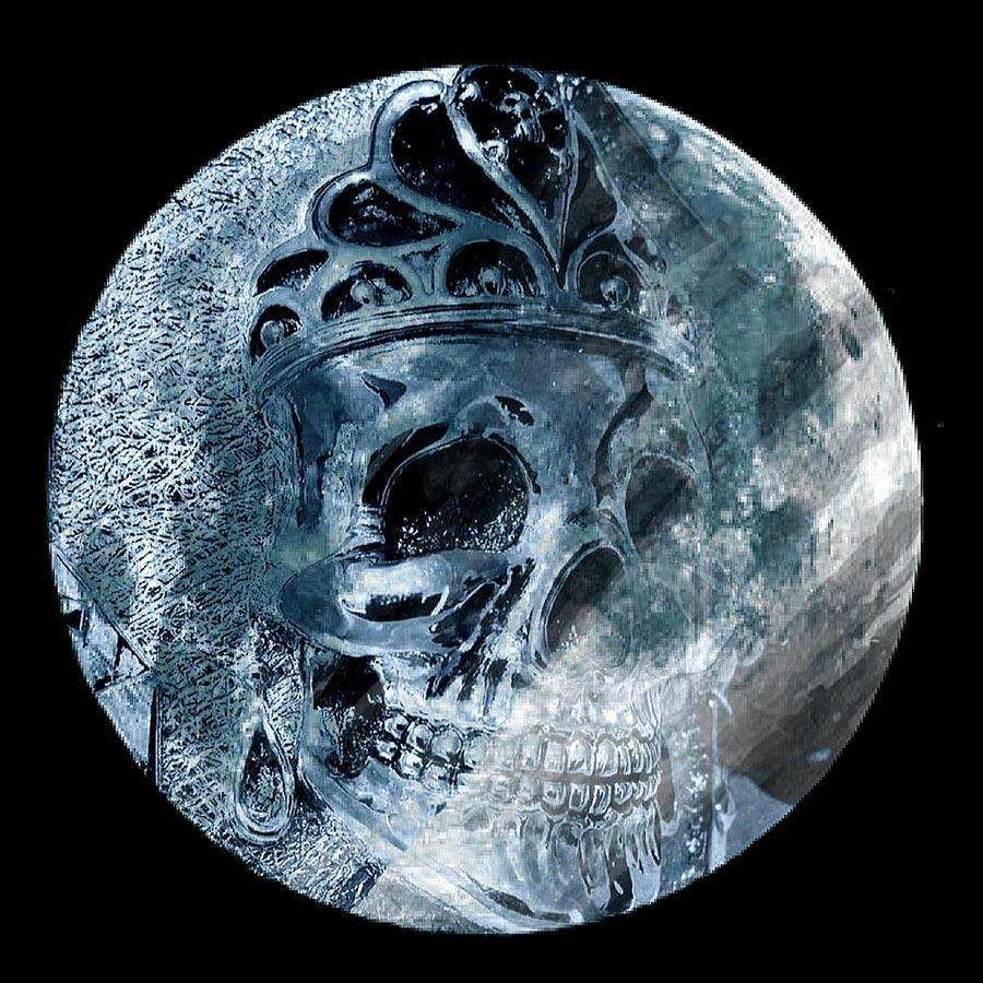 Lolan T Lookbook Golgotha Collection Buckles Queen Skull