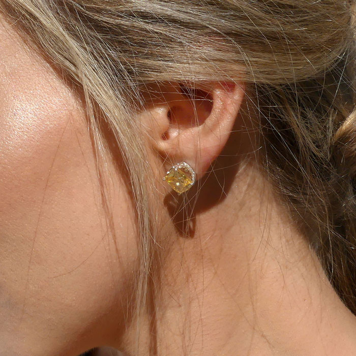 MOD Collective Earrings CZ Sterling Silver