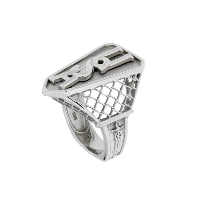 Golgotha Ring USA Cage Sterling Silver Rose Gold Yellow Gold