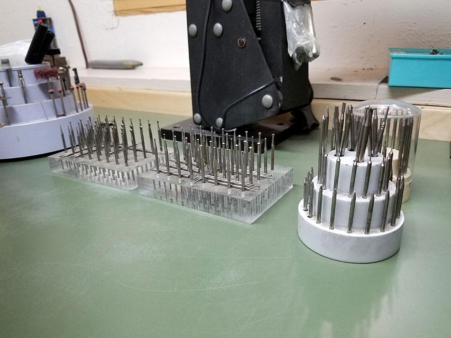 Private Commission Production Process Bench Shop