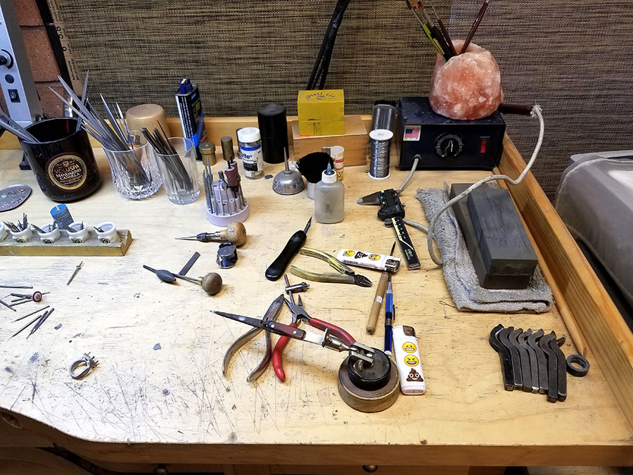Private Commission Production Process Bench