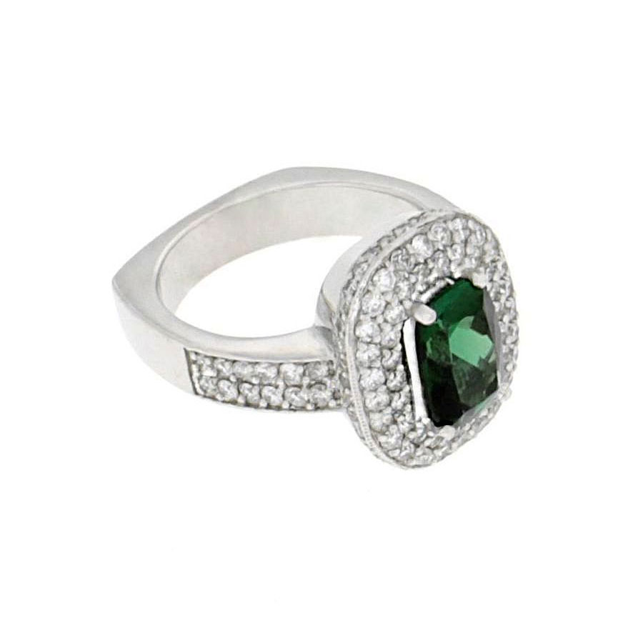 Private Commission Rings Tourmaline White Gold Diamonds