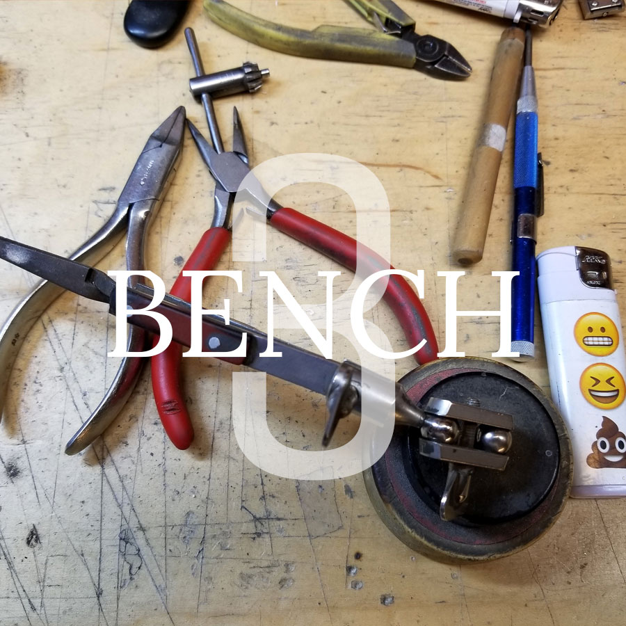 Private Commission Production Process Bench Title