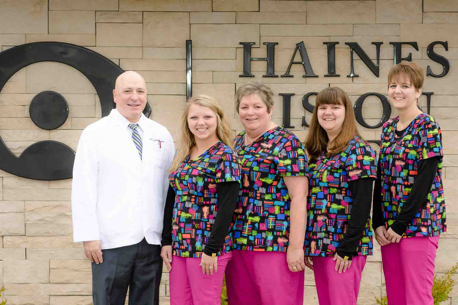 Haines Vision Care Staff