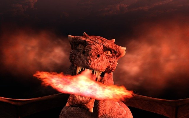 dragon mask photo