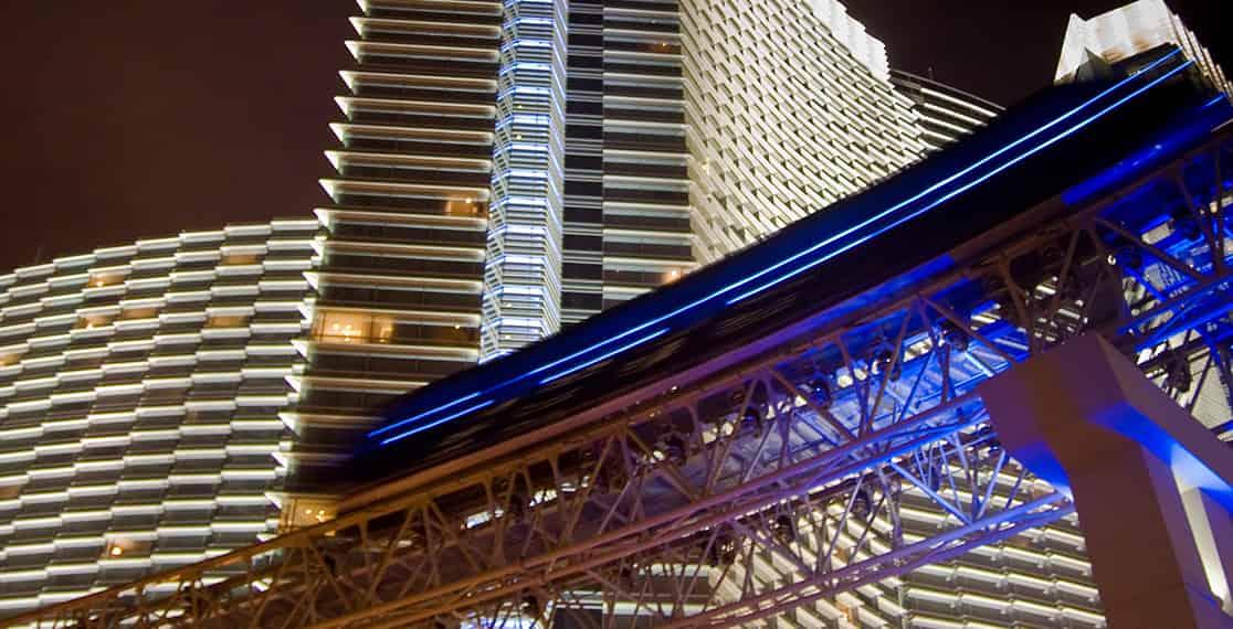 Las Vegas Monorail   photo by James Mattil, Shutterstock.com
